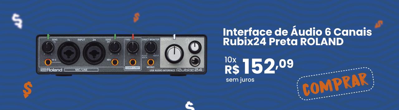 Interface-de-Audio-ROLAND