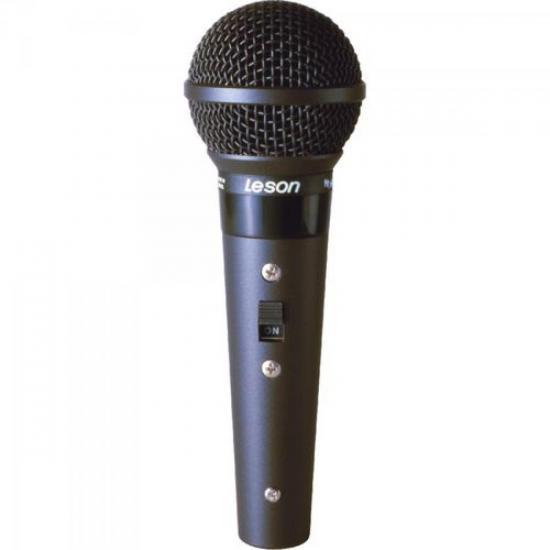 Microfone Profissional Com Fio Cardióide SM58 BLC LESON (11320)