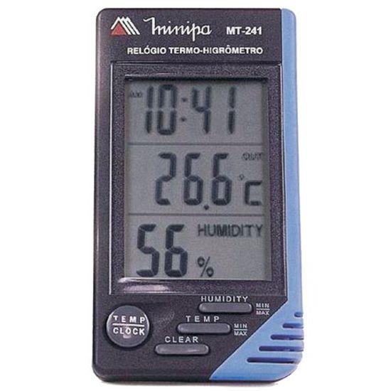 Relógio Termo-Higrômetro MT-241 MINIPA (11479)