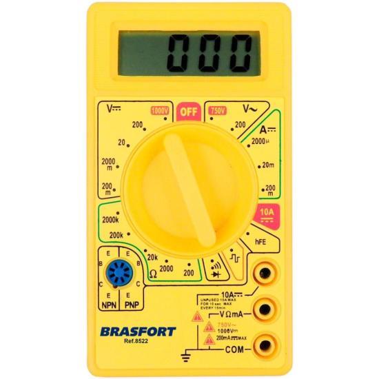 Multímetro Digital DT830B BRASFORT (16838)