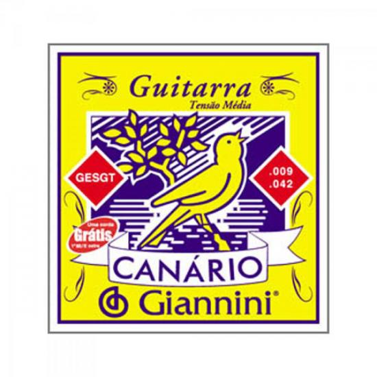 Encordoamento para Guitarra .009 GESGT GIANNINI (20437)
