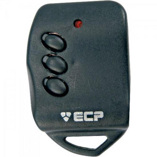 Controle Remoto Para Alarme Portão 433Mhz KEY 3 botões ECP (24086)