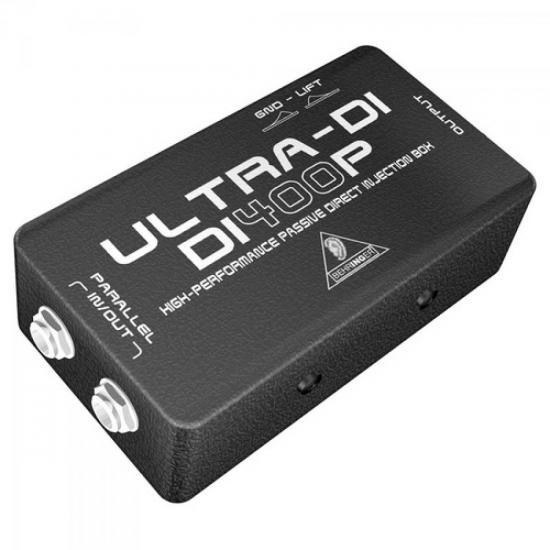 Direct Box Passivo Para Guitarra e Contrabaixo DI400P BEHRINGER (29632)