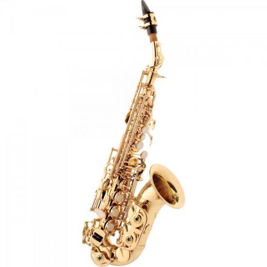 Saxofone Soprano Curvo Bb SP508 Laqueado EAGLE (30252)