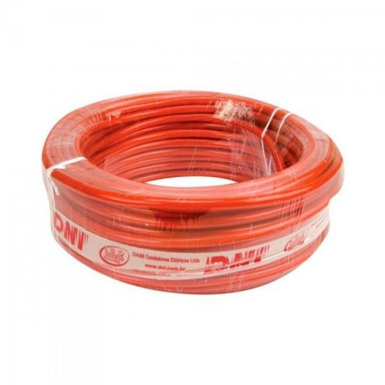 Fio Flex 10mm Cristal/Vermelho DNI (30533)