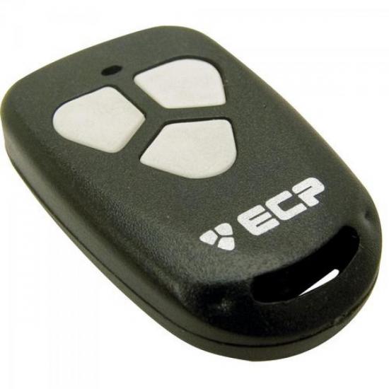 Controle Remoto para Alarme Portão 433Mhz FIT 3 botões com Clip ECP (30971)