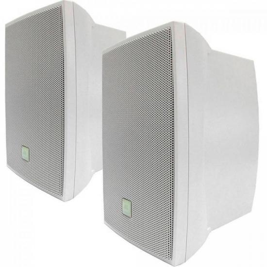 Par de Caixa Acústica Som Ambiente 50W C621B Branca JBL (32228)