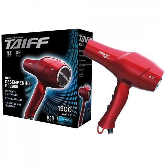 Secador de Cabelo 1900W 127V RED ÍON Vermelho TAIFF (37638)