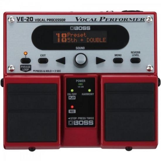 Pedal Para Voz Processador Vocal VE20 BOSS (37656)