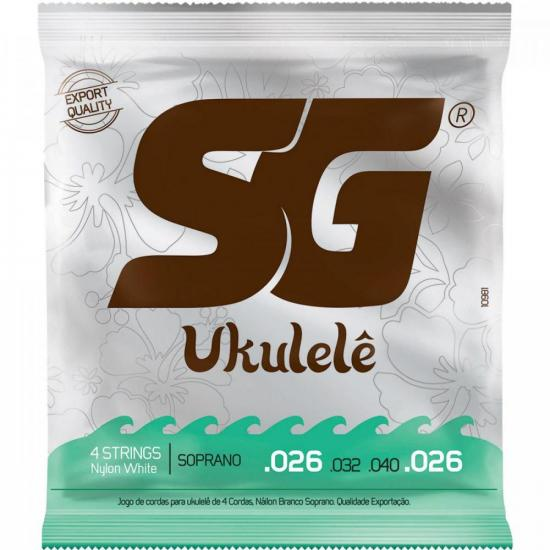 Encordoamento para Ukulele em Nylon Soprano SG (43403)