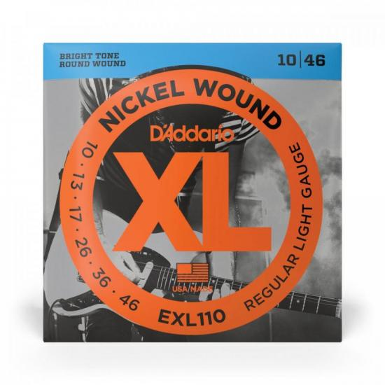 Encordoamento para Guitarra .010 Nickel Wound D'ADDARIO