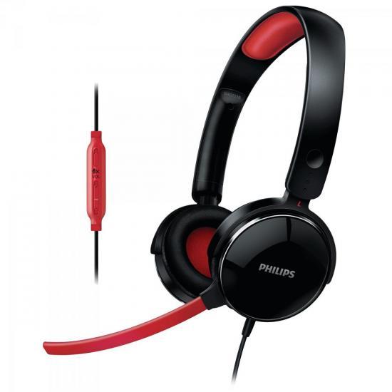Headset Gamer com Microfone Desencaixável e Controle de Volume (48185)