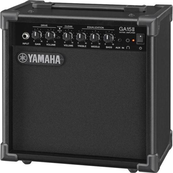 Cubo para Guitarra GA15II 15W RMS Preto YAMAHA (49941)