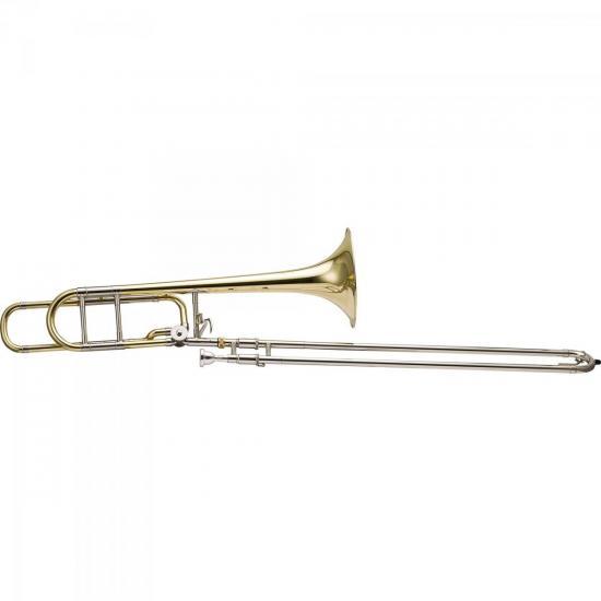 Trombone de Vara Tenor Bb/F HSL-801L Laqueado HARMONICS (53812)