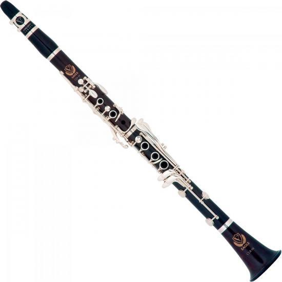 Clarinete Bb CL04 Preto Brilhante EAGLE (54352)