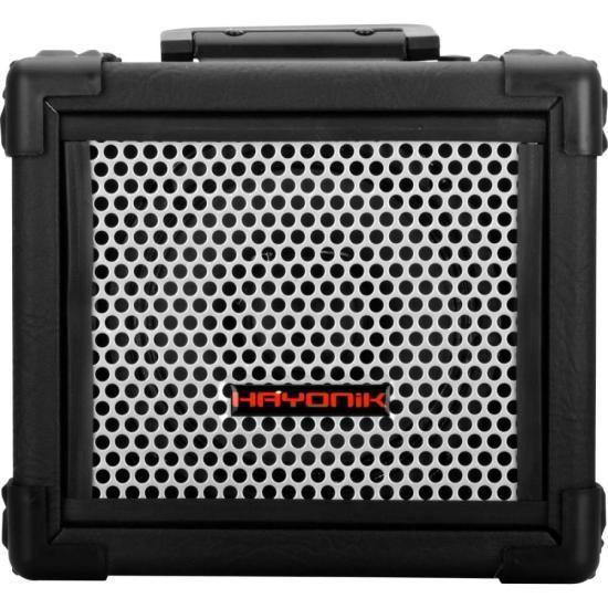 Caixa Multiuso 20W Bluetooth/USB/SD/FM IRON 80 Preta HAYONIK (54879)