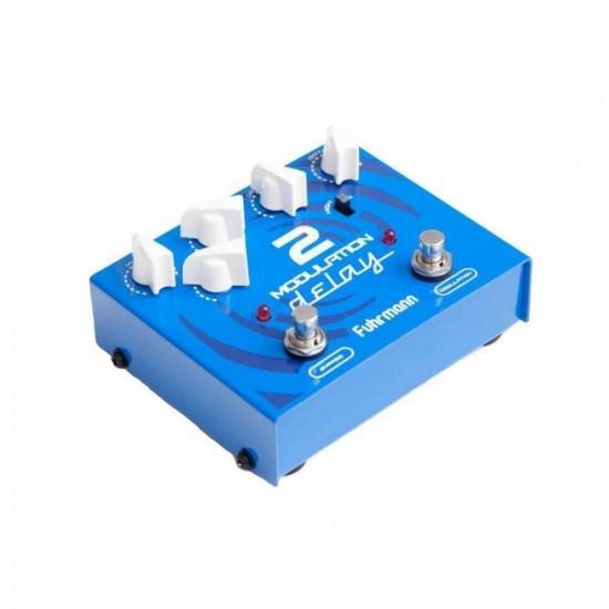 Pedal de Efeitos MD02 Azul FUHRMANN (55172)