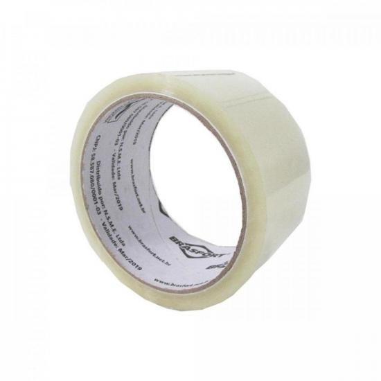 Fita Adesiva Para Embalagem 48mm X 45m Transparente BRASFORT (55406)