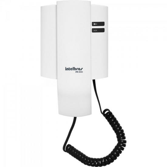 Porteiro Eletrônico Residencial IPR8000 Branco INTELBRAS (56331)