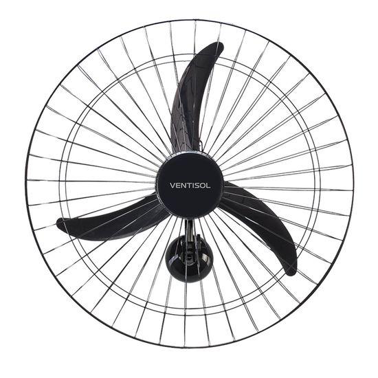Ventilador de Parede 60cm 220V NEW PREMIUM Preto VENTISOL (56403)