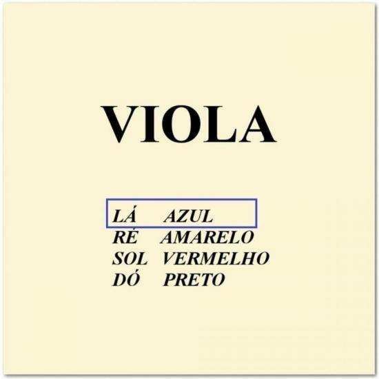 Corda p/ Viola LÁ CALIXTO (56594)