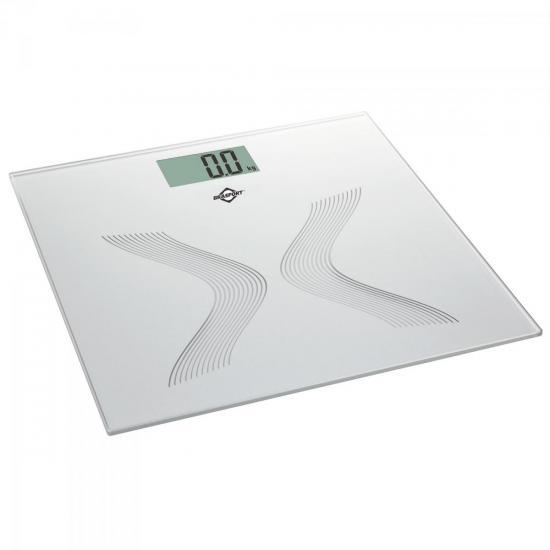 Balança de Banheiro Digital 150Kg Cinza BRASFORT (56949)