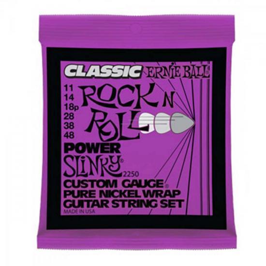 Encordoamento Para Guitarra Aço 0.11 2250 CLASSIC POW ERNIE BALL (57245)