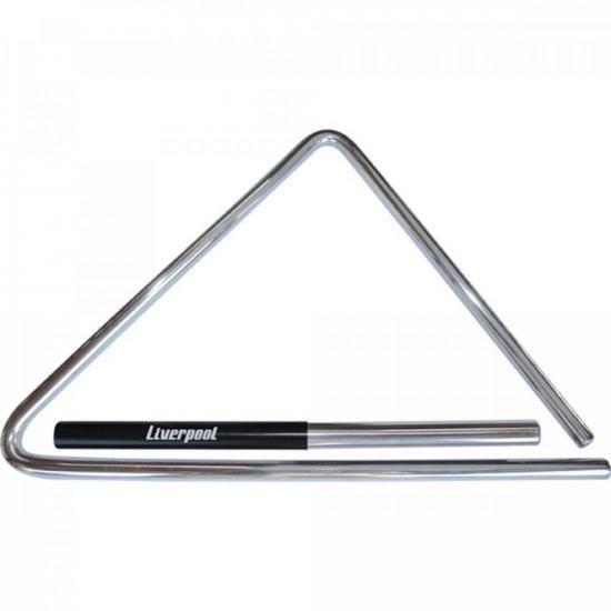 Triângulo de Aço 43cm Para Forró TF 537 Cromado LIVERPOOL (57320)