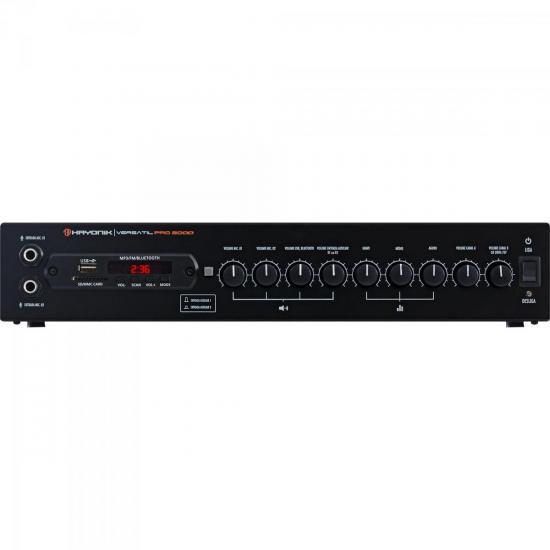 Amplificador PRO2000 200W RMS HAYONIK (57575)