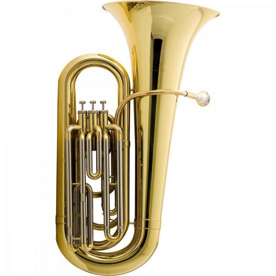 Tuba Bb 3/4 3 Pistos HBB-L332L Laqueada HARMONICS (58675)