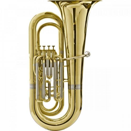 Tuba Bb 4/4 4 Pistos HBB-534L Laqueada HARMONICS (58747)