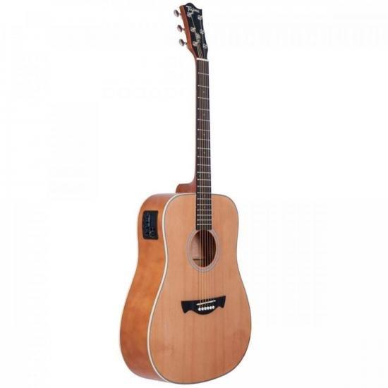 Violão Eletroacústico Folk Aço Woodstock TW 25 Natural TAGIMA (59251)