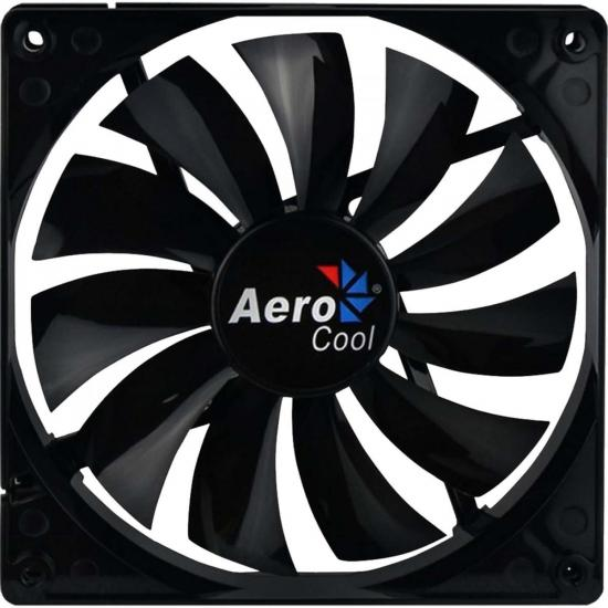 Cooler Fan 14cm DARK FORCE EN51349 Preto AEROCOOL (59790)