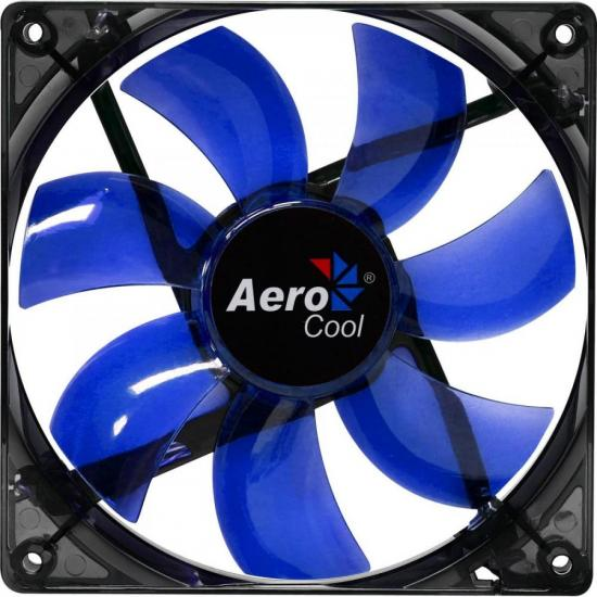 Cooler Fan 12cm BLUE LED EN51394 Azul AEROCOOL (59793)