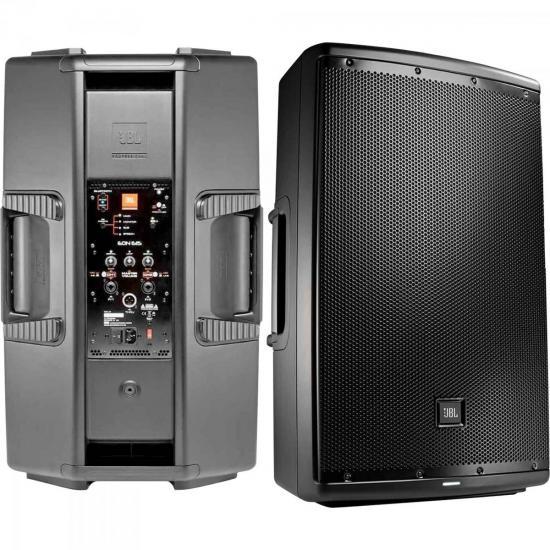 Caixa Acústica Ativa 500W EON615 Preta JBL (60108)