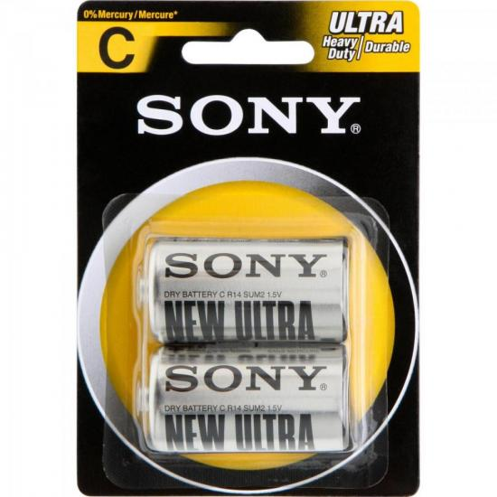 Pilha Zinco Carbono C ULTRA HEAVY DUTY SUM2-NUB2A SONY (60138)