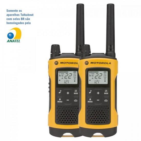 Rádio Comunicador Talkabout 35km T400BR Amarelo MOTOROLA (60484)