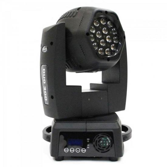Aparelho de Iluminação 220V MOVING HEAD DUO300 FREE Prata PLS (60543)