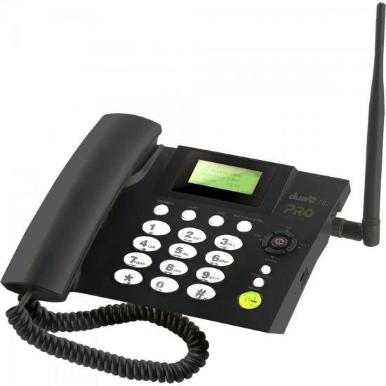 Telefone Celular Fixo Quad Band Dual Chip PROCD6010 PROELETRONIC (61067)