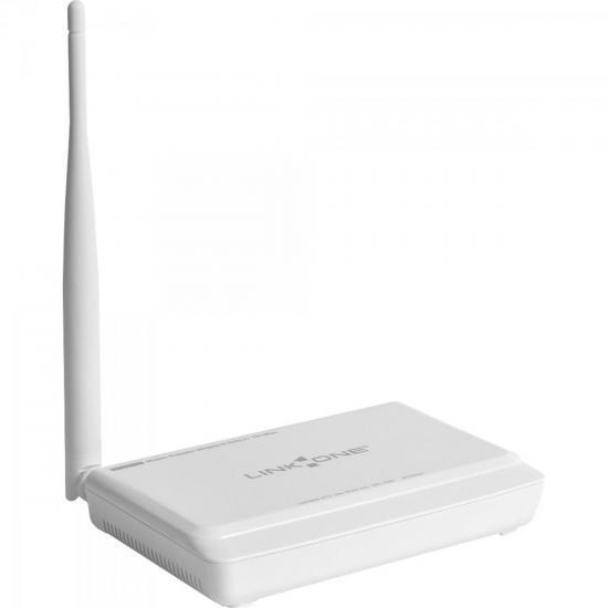 Modem Roteador Wireless ADSL2+ 150Mbps L1-DW121 Branco LINK ONE (61108)