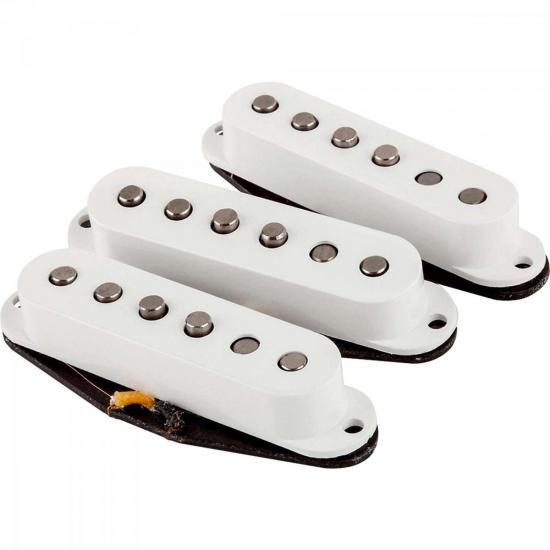 Set de Captadores Para Guitarra FAT '50 STRAT Branco FENDER (61259)