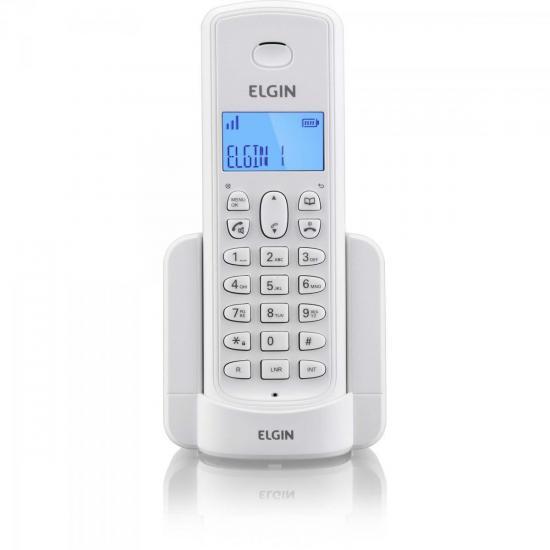 Ramal Para Telefone sem Fio com ID TSF-8000R Branco ELGIN (61980)