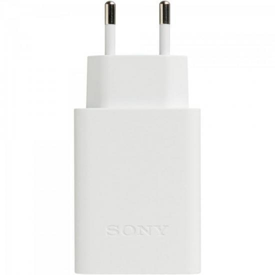 Carregador USB 5V 2,1A CP-AD2 Branco SONY (62020)