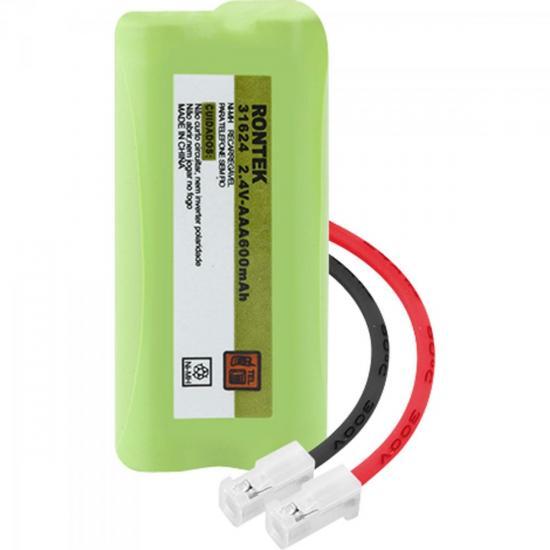 Bateria Recarregável Universal Para Telefone sem Fio NiMh 600mAh 2,4V (62756)