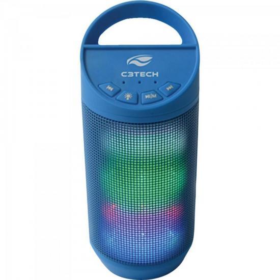 Caixa Multimídia 8W RMS Bluetooth SP-B50 Azul C3TECH (62792)