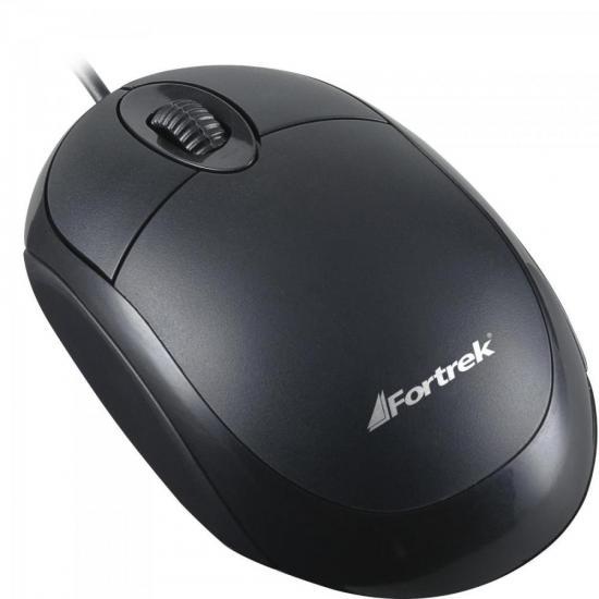 Mouse USB 800 DPI OML-101 Preto FORTREK (62845)
