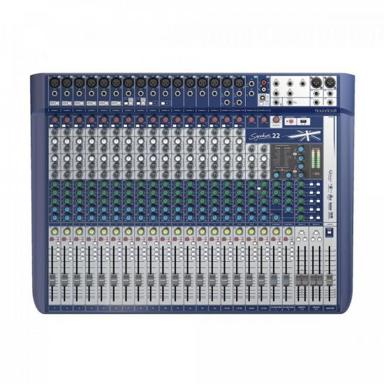 Mesa de Som 22 Canais Signature SOUNDCRAFT (62860)