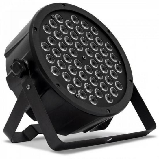 Aparelho de Iluminação MEGA PAR LED 54 RGBW Preto PLS (62916)