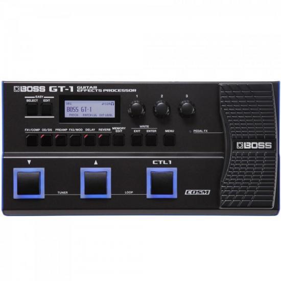 Processador de Efeitos Para Guitarra GT-1 Preto BOSS (62974)