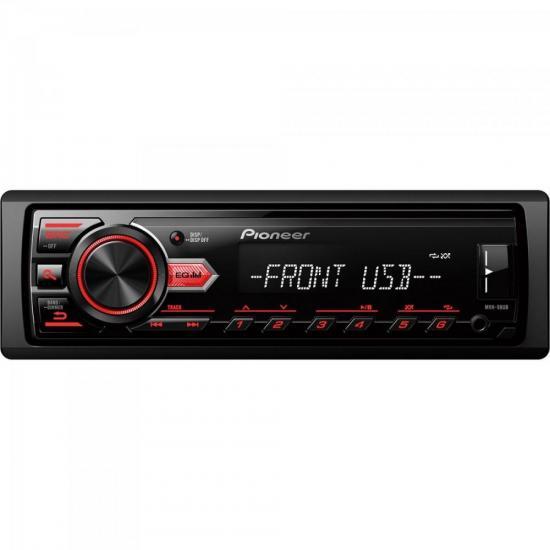Auto Rádio USB/AM/FM MVH-98UB Preto PIONEER (63489)